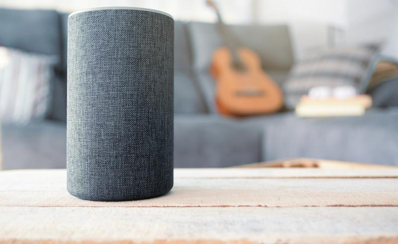 Imagen de un dispositivo Amazon Echo